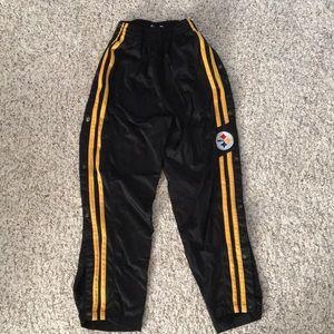 Steelers boys warm up pants
